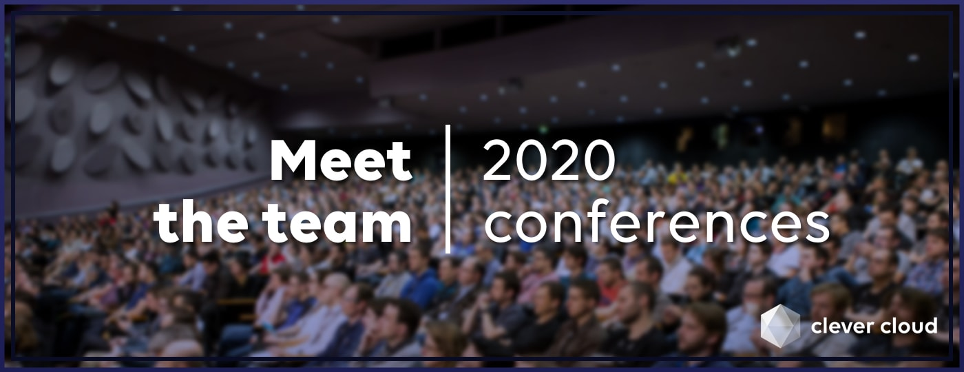 Upcoming 2020 conferences