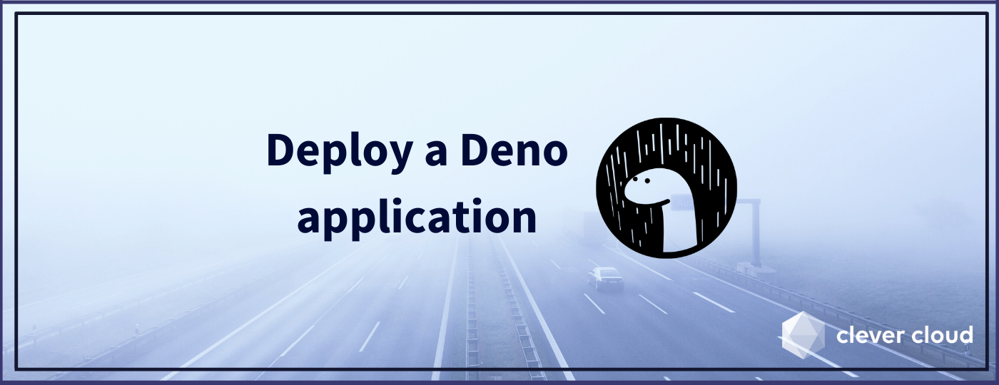 How to deploy a Deno application