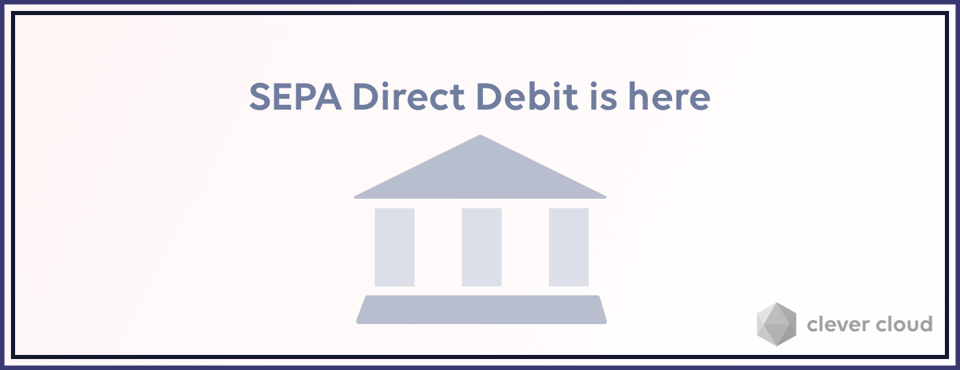 SEPA Direct Debit payment now available